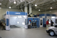 Saturn Dealer-2 Raptor Velocity Cure Paint Booths.JPG
