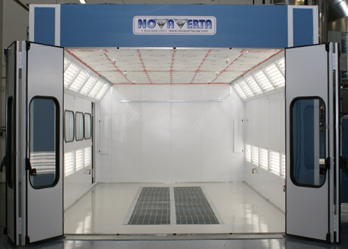 Paint Booths For Solvent And Waterborne Paint Systems