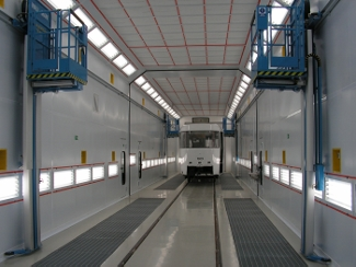 Industrial Downdraft Paint Booth