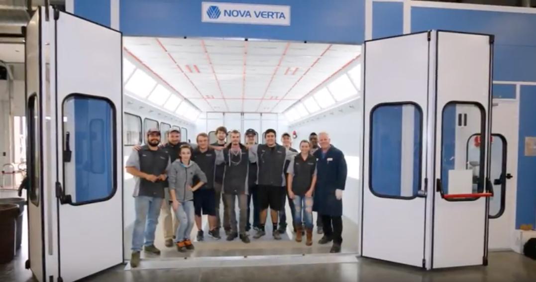North Idaho College - Collision Repair School - Nova Verta Paint Booth