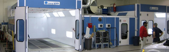 Automotive Truck Aircraft Paint Booths And Prep Stations